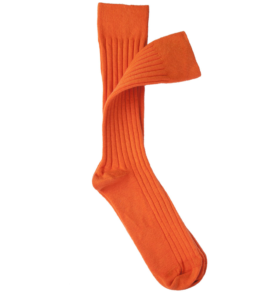 Package Men's Burnt Orange Socks
