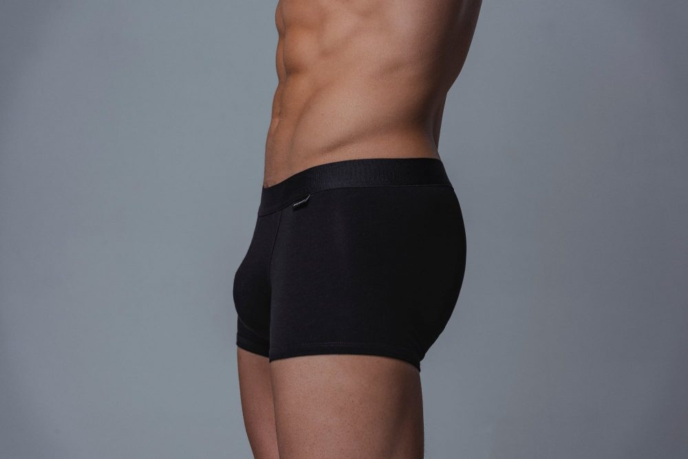 Package Men's Trunks in Black Side