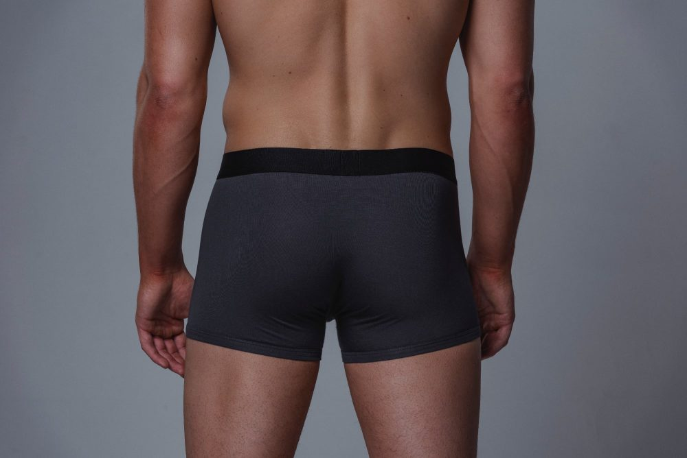 Package Men's Trunks in Grey Back