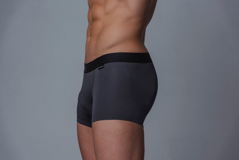 Package Men's Trunks in Grey Side