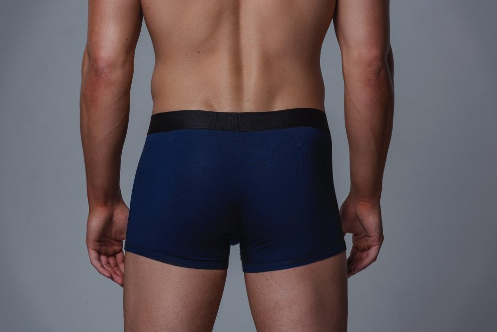 Package Men's Trunks in Navy Back