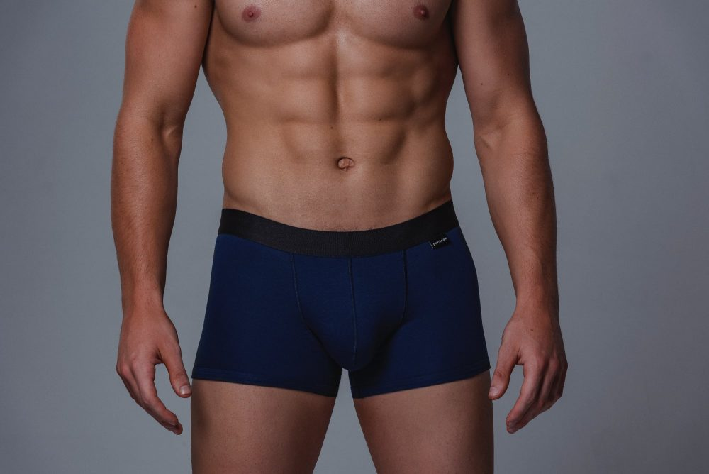 Package Men's Trunks in Navy Front