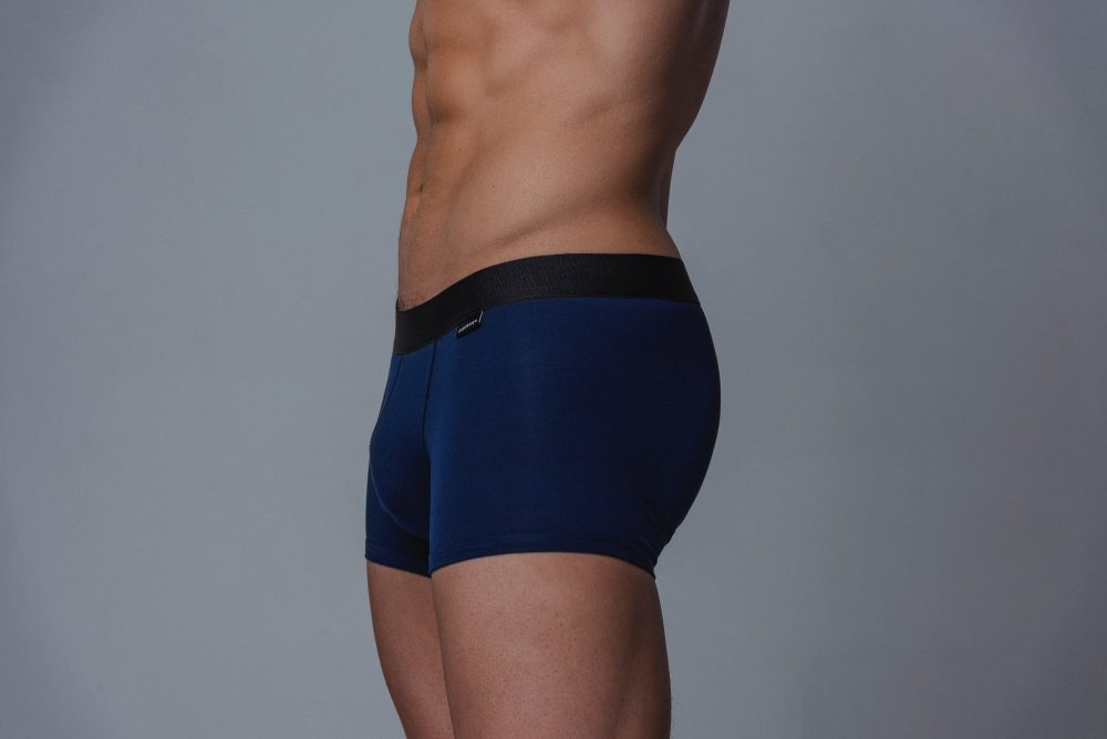 Package Men's Trunks in Navy Side