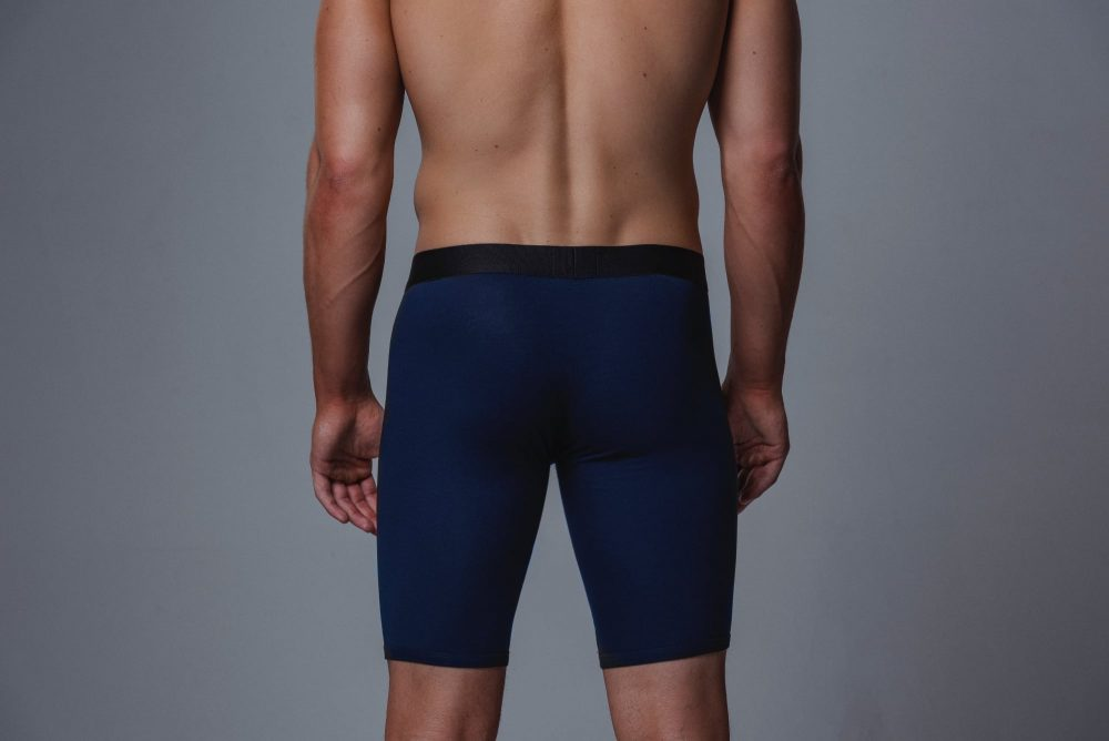 Package Men's 24cm Boxer Briefs in Navy Back