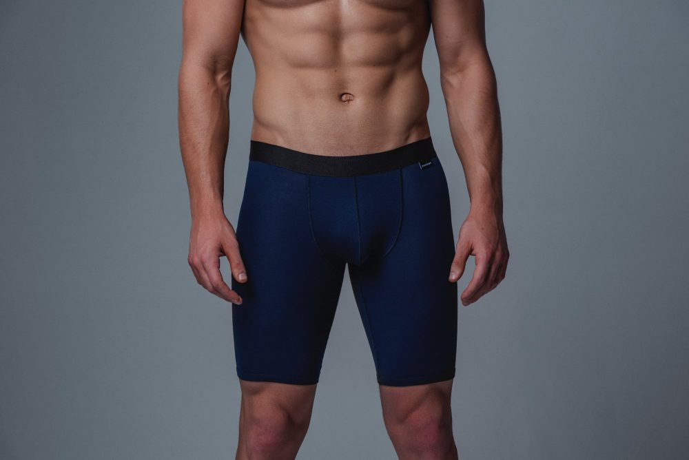 Package Men's 24cm Boxer Briefs in Navy Front