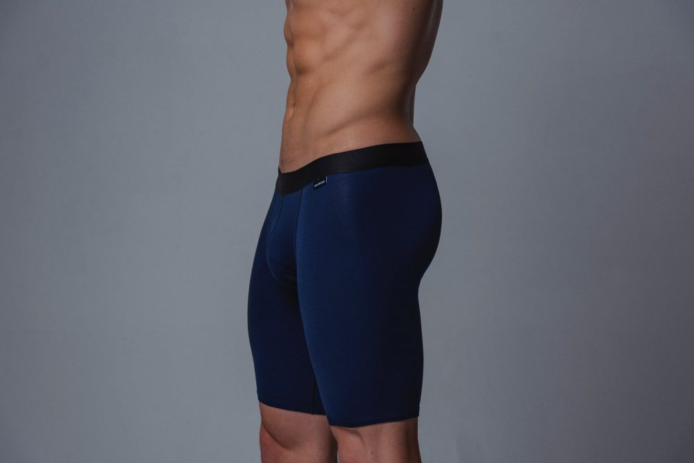 Package Men's 24cm Boxer Briefs in Navy Side
